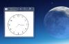 Java Swing多线程技术开发的指针式时钟项目源码免费下载