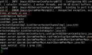 解决ZooKeeper:java.net.BindException: Address already in use