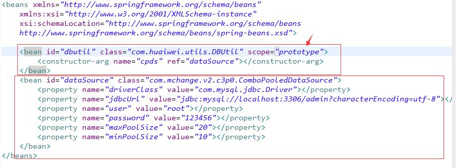 bean作用范围和生命周期及整合c3p0——Spring框架系列教程(10)