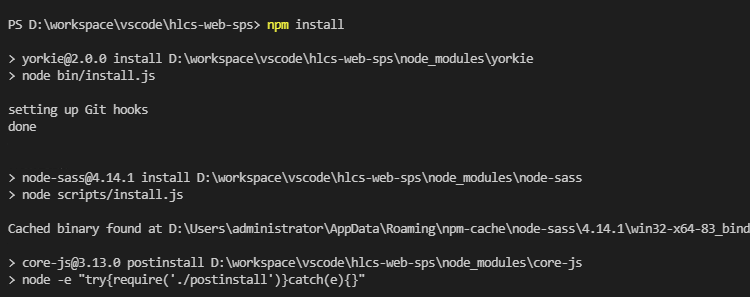 npm install报错npm ERR! cb() never called问题解决办法